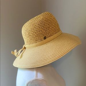 Straw sun hat perfect for long days in the sun